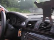 Deutsche Studentin im BMW geknallt