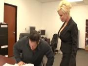 The Boss Seduces Her Employee