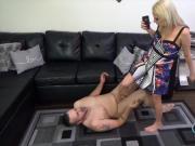 Roxie Rae Breaking His Balls FEMDOM CFNM BALLBUSTING