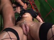 Sandra Black pussy pump