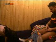 VV7 Big Brother Hungary-Dennis fingers Fanni in sauna