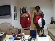 Two BBW Ebony by love-boot