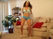 Ebony Teen in training