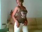 my ex-girlfriend dancing on cam