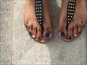Gena Purple Toenails