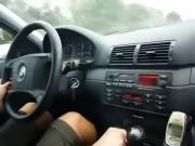 hot women smoking in car