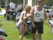Fun at a Nudist rally 27