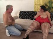 Super Fatty Mia Riley gets sucks and fucks