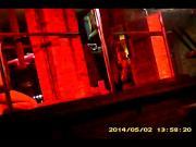 Hidden striptease camera