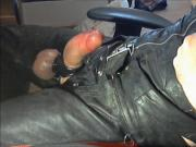 leder sau - leather poppers pig boy cum load
