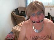 deepthroat Tranny slave