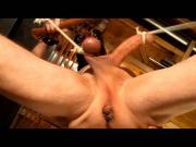 Sissy Pussyboy Stretched CBT Bondage Self-use Degradation