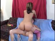 Sexy bitch gets ass boned