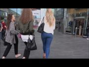 Blonde Teen Shopping