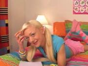 blonde teenn blowjob