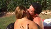 Assfucking threesome on the grass  FM14