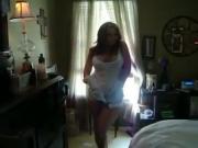 Sexy mom dancing