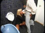 Buttfucked in Restroom