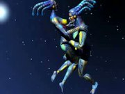 Floating Space Aliens Having It Off In Space