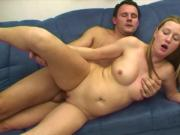 old & young - blonde stepmom fucked by young boy