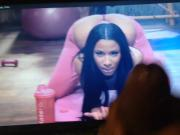 Nicki Minaj cum tribute