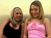 Super hot kayla have her first lesbian sex