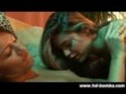 Bobbi and Paola Lesbian Dildo Sex in HD!