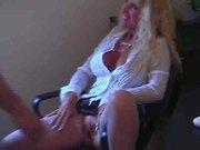 Hot Busty Blonde Granny Cougar Julia