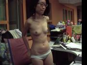 Singaporean office girls shows it all