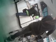 Azn curves in leggings 2