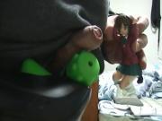 sperm on doll 11