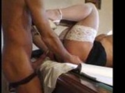 Francesca Petitjean fucked on the pool table