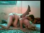 Chubby Iranian Housewife fucking with young Lover