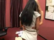 Blue Angel And Shalina Devine Lesbian Scene