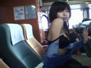 FUJIO Rina in the ferry