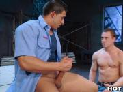 HotHouse Big Dick Latino Caught Jerking Off