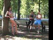 Naughty in public Dirty moves in the crowded park part 2