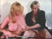 Busty Blonde Fucks Husband's Brother 1970s Vintage