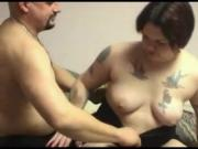 chubby couple in a nice clip, look at her nails