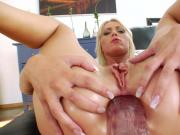Very hungry ass hole gets a lot of toys