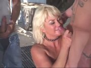 Trailer Park Mom Dana Uses All Her Holes