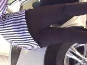 Granny ass car wash 1