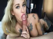 Gorgeous girl knows how to suck cock
