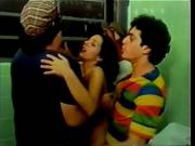 Made in Brazil 1985 Threesome erotic scene MFM