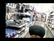 flashing at walmart