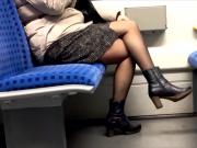 Nylon play in train