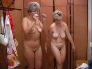 Russian matures served on Sauna.(2)