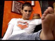 Gabriella teen feet