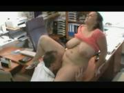 Fucking my horny Fat Chubby Secretary at the office-TheBBWGF