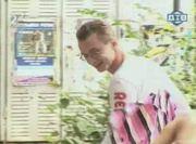 topless rollerblading prank